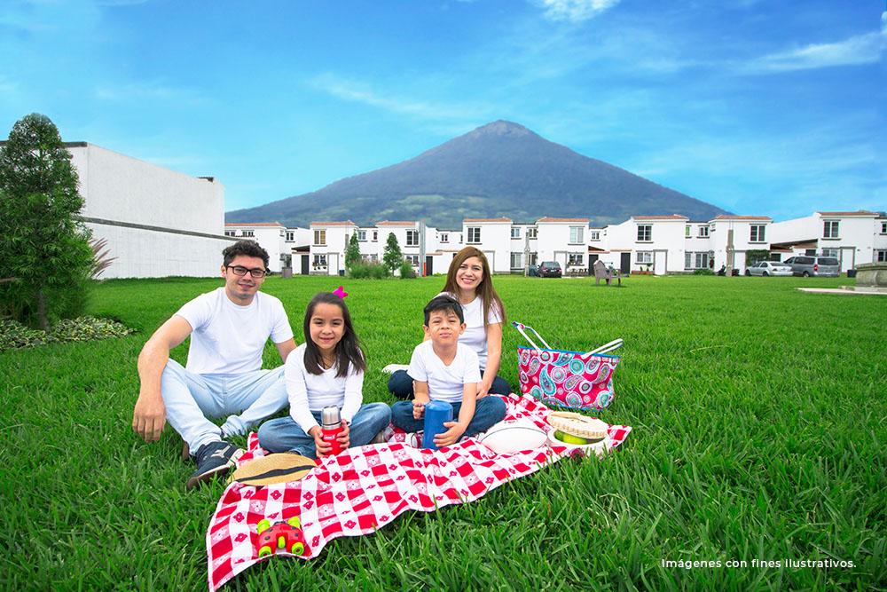 areas verdes - familia - FVSMII