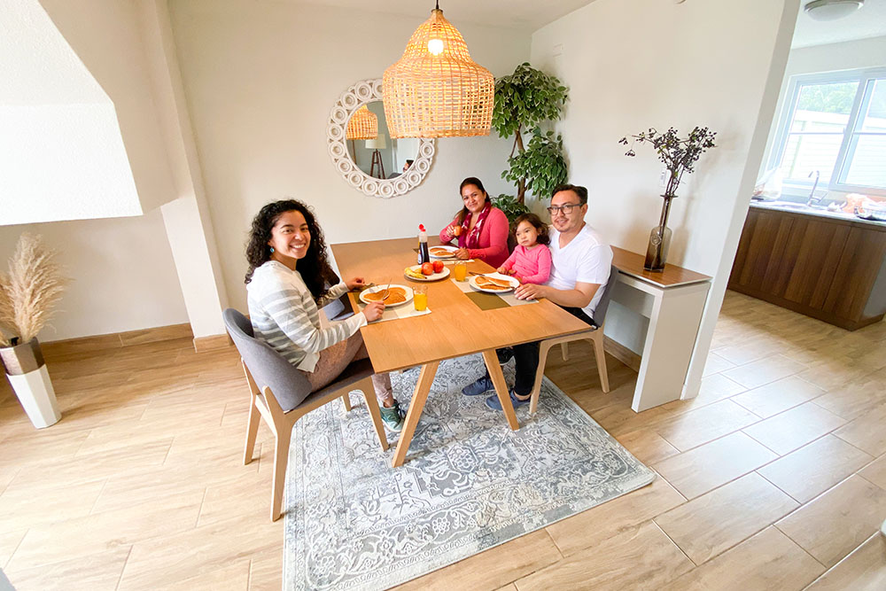 familia comedor - ASNII